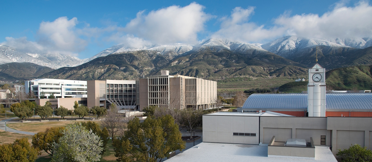 Photo of CSUSBs campus